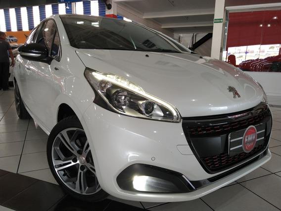Peugeot 208 Gt 1.6 Thp Flex 173cv 2017 - Branco