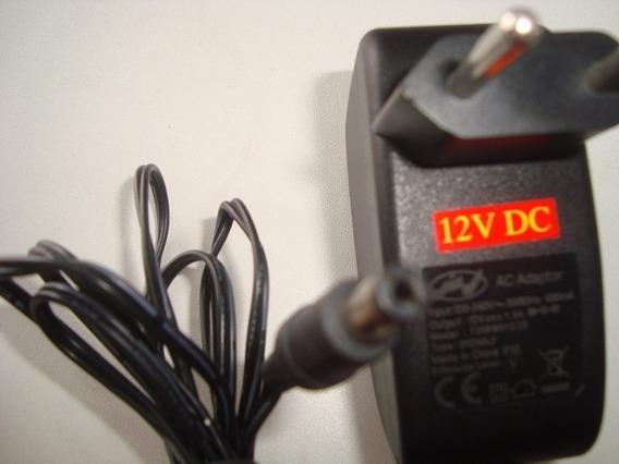 Cx 100 Fontes 12v Plug P4 1,5a Cftv , Dvd , Tv , Net , Modem