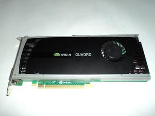 Tarjeta De Video Nvidia Quadro 4000 2gb Ddr5. Inc Conector