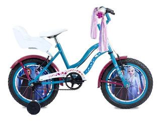 Bicicleta Enrique Stars Frozen Rodado 14