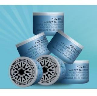 Keraliss Kit Salon 6 Mascara Nutritiva Post Alisado 500 Gm