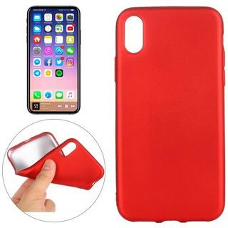 Capa Silicone Celular iPhone X / Xs