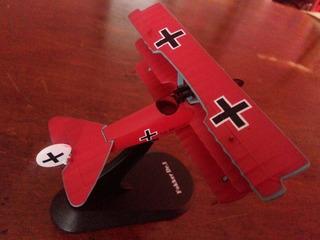 Fokker Dr1 Avión Primera Guerra Mundial Escala