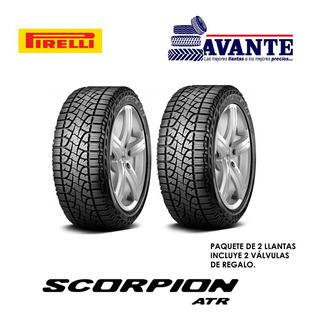 Llanta P275/65r18 Pirelli Scorpion Atr A/t 116h ( Paq. 2 )