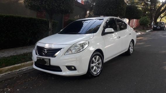 Nissan Versa 2012 1.6 16v Sl Flex 4p