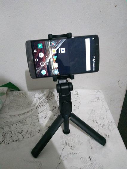 Tripe/ Pau De Selfie Com Controle Por Bluetooth