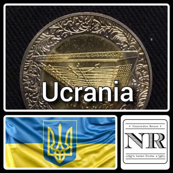 Ucrania 5 Grivna - Bimetalica 2006 - Km 402 - Platillos