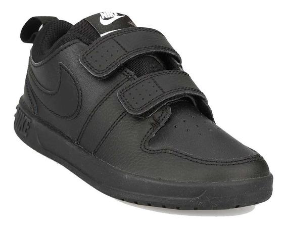Zapatillas Nike Pico Infantiles Comodas Y Resistentes Negras