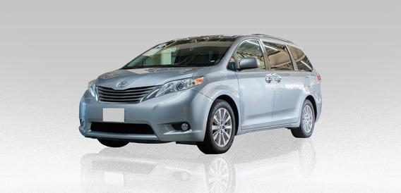 Toyota Sienna Xle 3.5l 2014 Plateado 5 Puertas