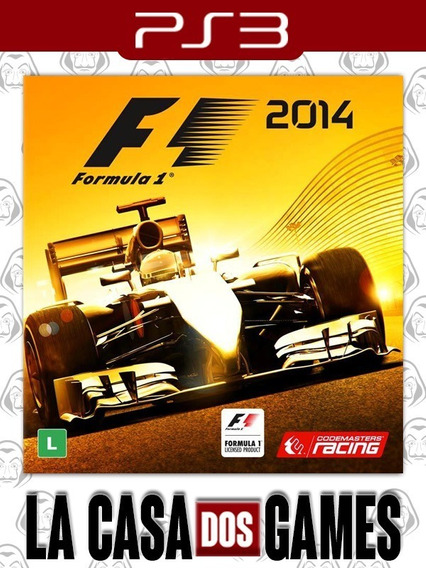 Formula 1 2014 - F1 - Inglês - Psn Ps3 - Envio Imediato