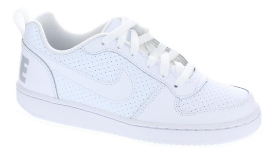 Tenis Nike Court Borough Low Blanco 839985 100