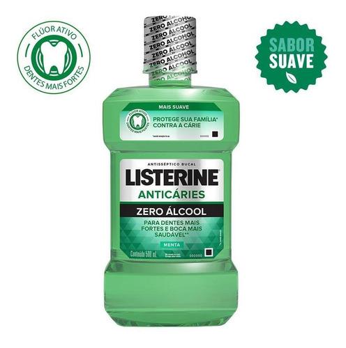 Antisséptico Bucal Listerine Anticáries Zero 500ml