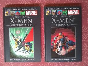 Graphic Novels Salvat - Surpreendentes X-men Dois Volumes