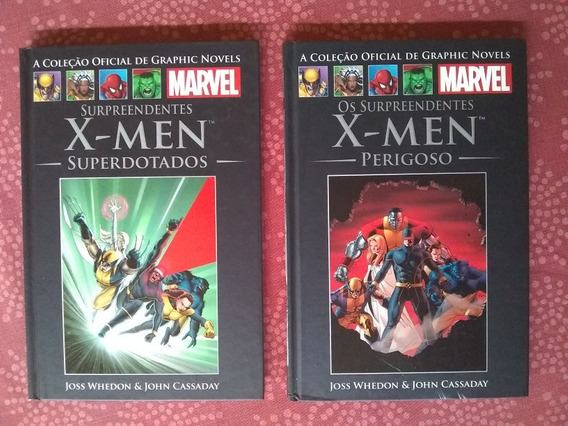 Graphic Novels Salvat - Surpreendentes X-men Dois Volumes