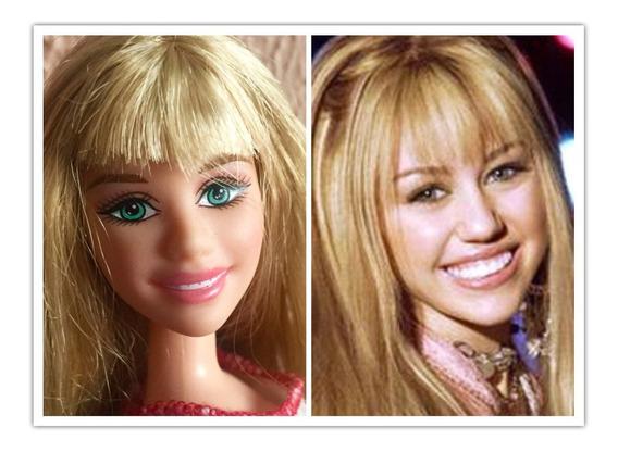 Boneca Barbie Miley Cyrus Hannah Montana Frete Grátis