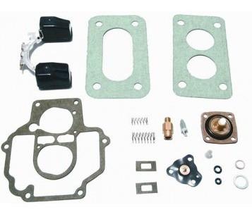 Kit Carburador Weber Gol 1000 Valv Ds488320 Furo 225 Gas/alc