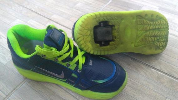 Tenis Nike Com Rodinhas, Num 32