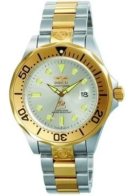 Invicta Grand Diver 3050 Automatico 47 Mm Original Duo Color