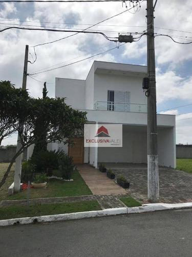 Casa Com 4 Dormitórios À Venda, 250 M² Por R$ 1.350.000,00 - Urbanova - São José Dos Campos/sp - Ca0637
