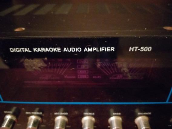 2 Amplificador,ecualizador Mezclador, 2 Bajos Operativo /