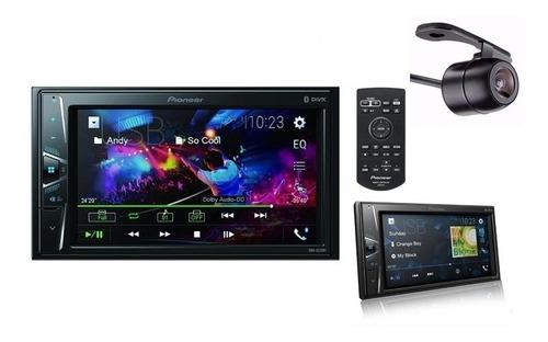 Imagem 1 de 10 de Dvd Pioneer Mvh-g218bt 2 Din Android iPhone+camera