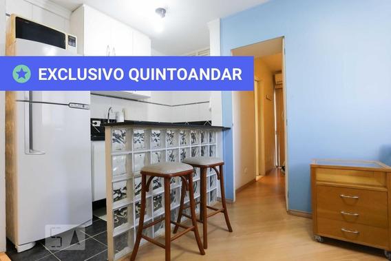 Apartamento No 2º Andar Com 1 Dormitório E 1 Garagem - Id: 892944937 - 244937