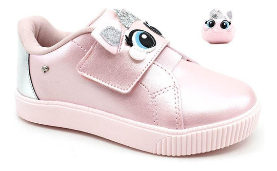 Tênis Infantil Pampili Princess Dots Rosa - 435067