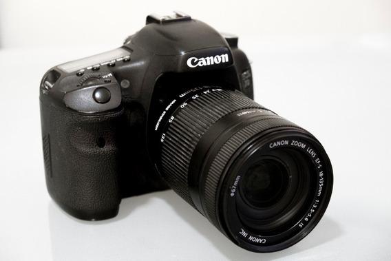 Câmera Digital Canon Eos 7d Zoom 18-135mm Profissional