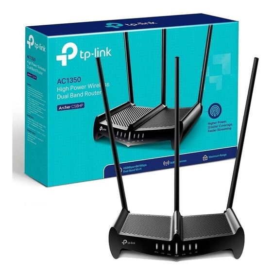 Router Tp-link Archer C58hp Doble Banda Ac1350