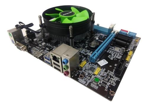 Kit Upgrade Placa Mãe + Processador I5 3.60ghz + Memória 8gb