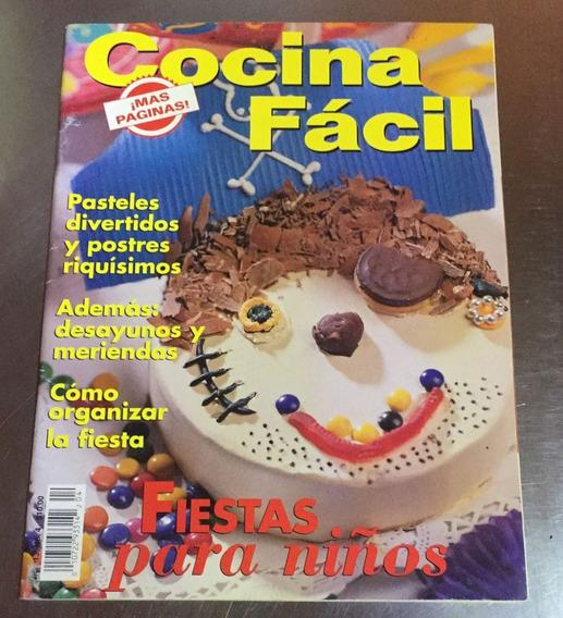 Revista Cocina Fácil - Fiestas Para Niños Marzo 1998
