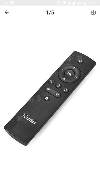 Khadas Controle Remotopara Vim2 Tv Box