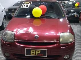 Clio Sedan 2001 1.6 Completo Abaixo Da Tabela