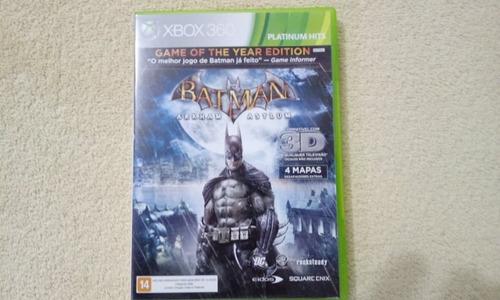 Imagem 1 de 2 de Jogo Batman Arkham Asylum Xbox 360 Original