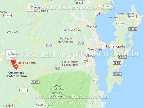 Rancho Queimado (sc): Terreno Com 1.978,69m² Calgi