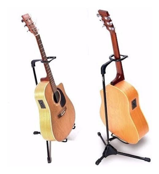 Suporte Ibox Novo Modelo P Violão Guitarra Pedestal C/ Trava