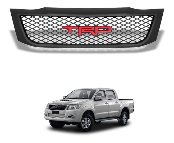 Grade Frontal Toyota Hilux 2012 A 2015 Modelo Trd