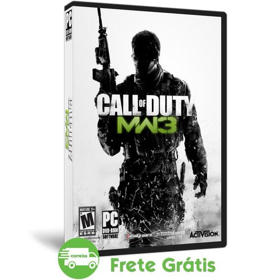 Call Of Duty Pc Modern Warfare 3 + Todas Dlc Mídia Física