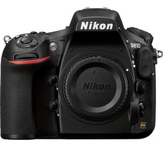 Cámara Nikon D810 (cuerpo) 36,3mpx Formato Fx, Digital Slr