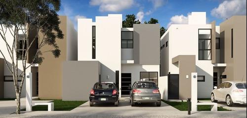 Casa Nueva En Venta, Privada Zensia, Modelo B, Conkal, Mérida Norte