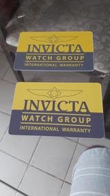 02 Cartões Invicta. Frete 10 Reais Por Carta Registrada.