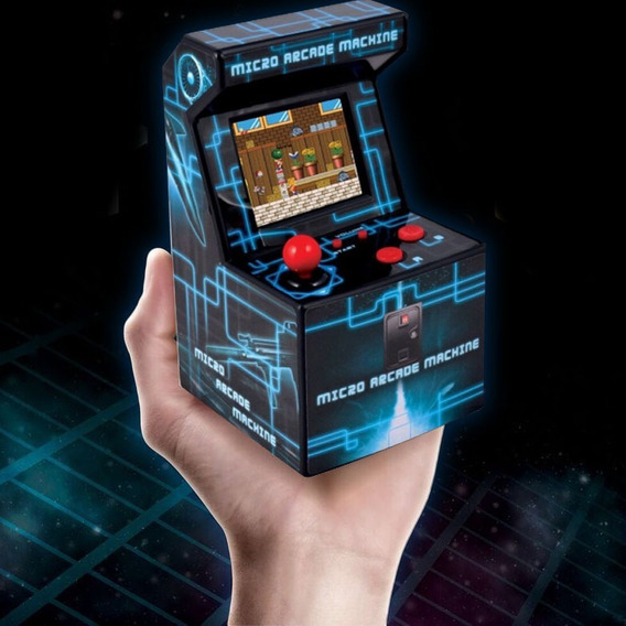 Arcade Fichin Mini Retro 8 Bits 200 Juegos Hack Excitebike