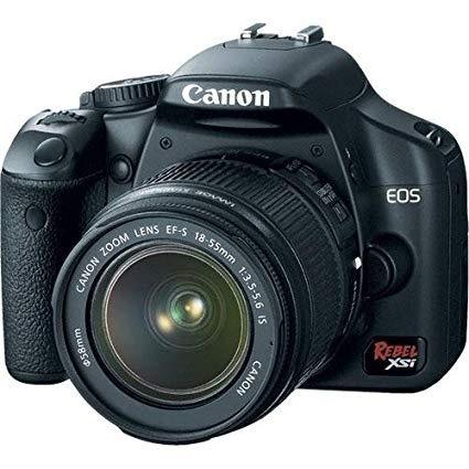 Câmera Digital Canon Rebel Eos Xsi C/ Lente 18-55 Nova