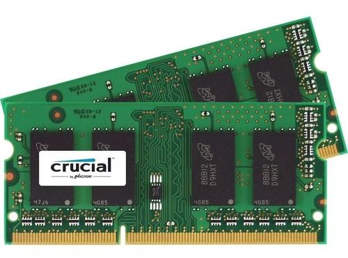 Memoria Ram Sodimm Notebook Crucial Ddr4 8gb 2400mhz