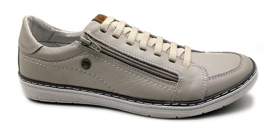 Sapato Sapatênis Masculino Casual Couro Bmbrasil 608/15