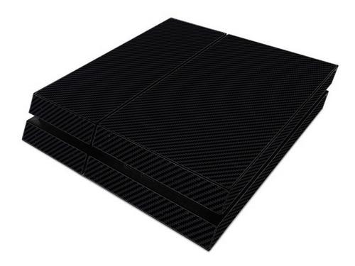 Skin Consola Ps4 Fibra De Carbono , Envios A Todo Chile