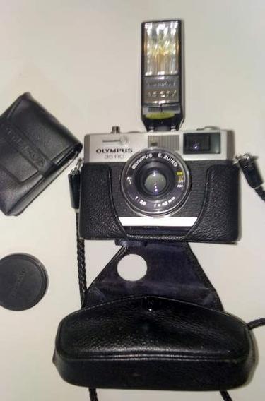 Câmera Analógica Olympus 35 Rc Excelente