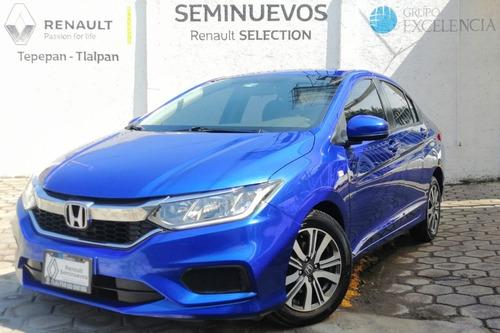 Imagen 1 de 15 de Honda City Lx Cvt 2020 Azul Metálico