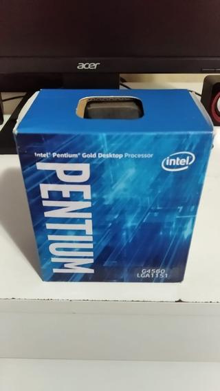 Placa Mãe H110 + Processador Pentium G4560 Lga 1151