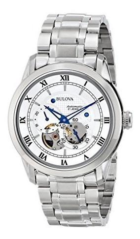 Reloj Bulova 96a118 Bva Series Mujer Contra Agua Analógica